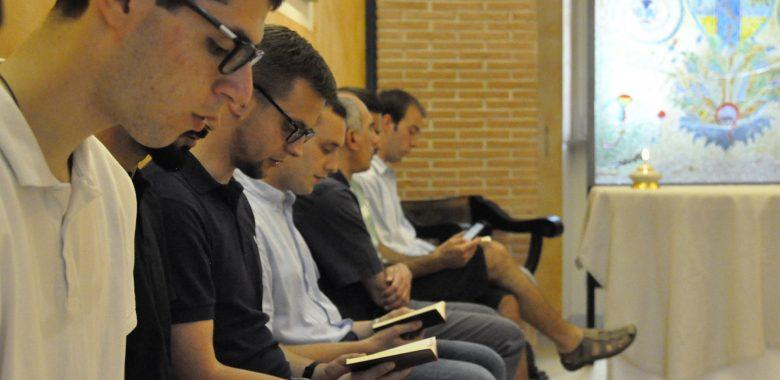 Momento di preghiera del Consiglio parrocchiale pastorale (CPP) della parrocchia di san Saba, Roma